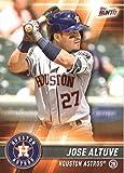 2017 Topps Bunt #140 Jose Altuve Houston Astros Baseball Card