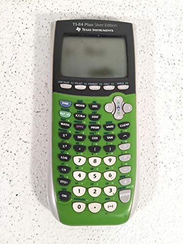 Texas Instruments TI-84 Plus Silver Edition Graphing Calcula