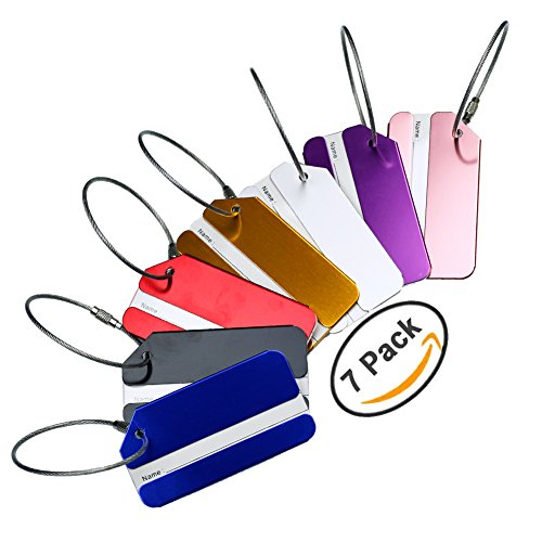 Hibate Metal Luggage Tag Suitcase Bag Travel Labels Accessories - Set of - Tags Luggage Wholesale