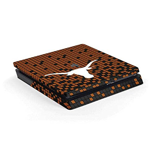 University of Texas at Austin PS4 Slim (Console Only) Skin - Texas Longhorns Orange Checkered | Schools & Skinit Skin by Skinit