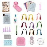 Quilling Paper Tool Set, 32 PCS DIY Craft Kits Quilling Strips Crafts Tool Set for Beginner's DIY Craft Clipping Decoration