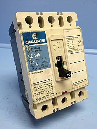 Challenger CE3020 20A Circuit Breaker 480V CE 14k CE3020L