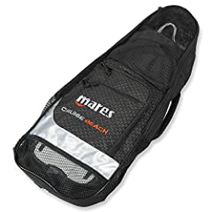 The Mares cruise Bach fin bag safely holds all of your basic snorkeling essentials for transfer from dive site to dive site. Blade fins fit easily into the large zippered Pouch, featuring drain holes to allow your snorkeling gear to dry. The ...