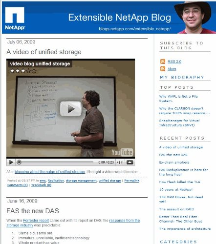 - Extensible NetApp: Thinking Outside of the Box