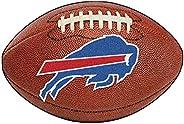 FANMATS NFL Buffalo Bills Nylon Face Football Rug