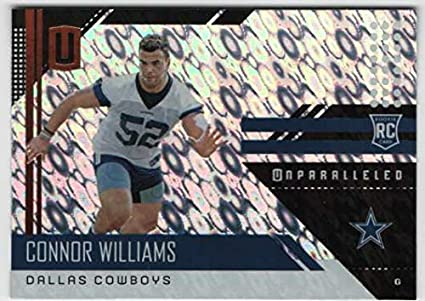 19ac02dd4ea 2018 Panini Unparalleled Football Flight Parallel #276 Connor Williams  Cowboys RC