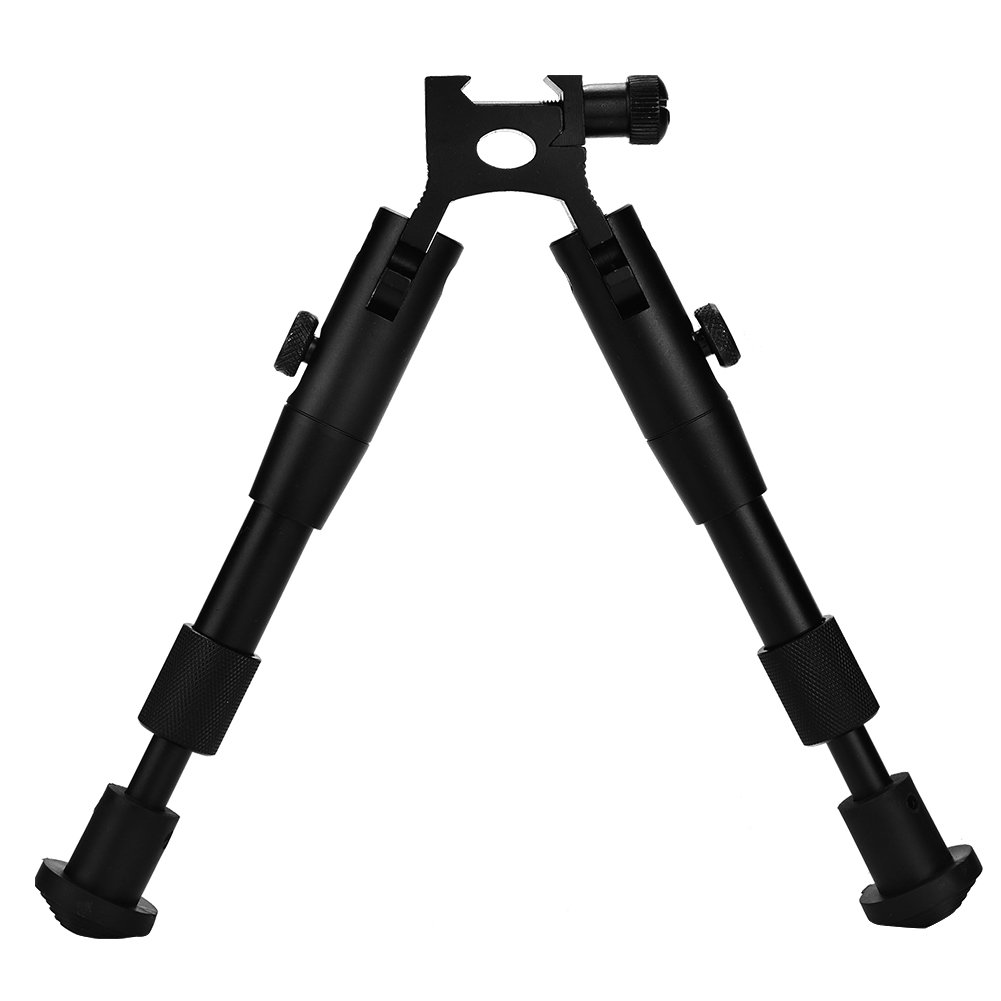 Rifle Stand - 6-inch Tactics Hunting Picatinny Rail Mount Adjustable Rifle Bipod Support Stand Dewin
