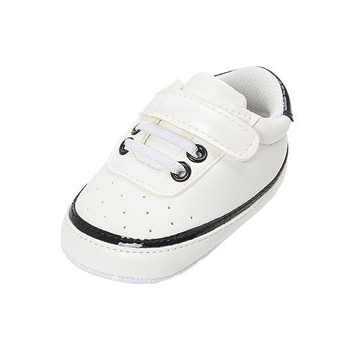 Sharplace Zapatos Pre-andadores Fondo Suave Suela Blanda Niños ...