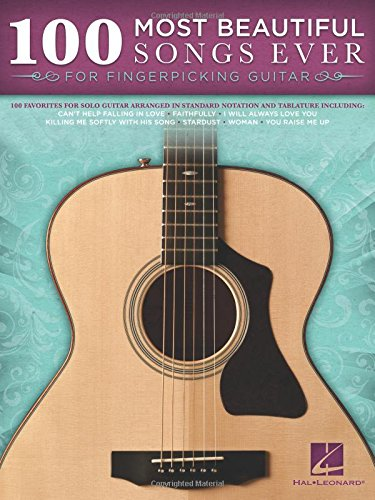 - 100 Most Beautiful Songs Ever For Fingerpicking Guitar