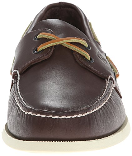 Uomo Marrone Scarpe Sperry 2 Original Barca da Eye Brown Authentic Classic fnq8nA40