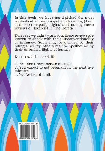 100 Opinions You Can Not Trust on Movie Exorcist II: The Heretic
