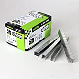 meite 20 Gauge 10J Series 7/16-Inch Crown By Leg Length 1/2-Inch Galvanized Fine Wire Staples Upholstery Staples for meite 1022J, 1013JL Staplers (5000pcs/Box) (1-Case Pack(18 Boxes))