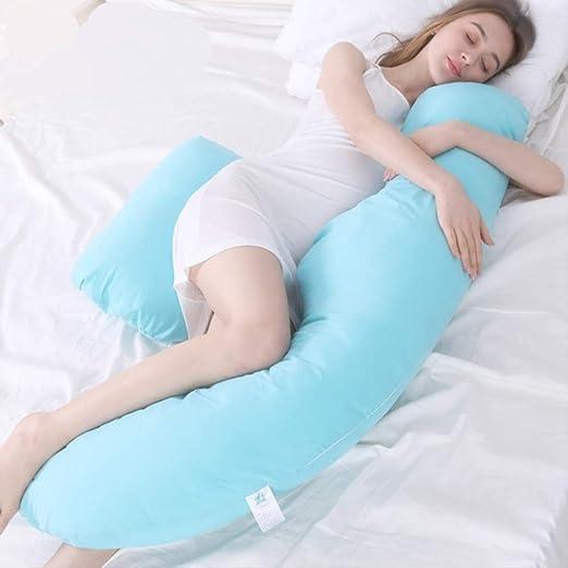AINIYUE Almohada de Apoyo para Dormir, Almohada de Lactancia ...