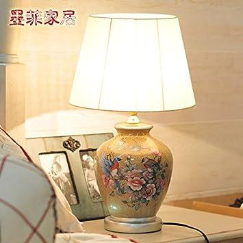 Crf Décoration Chevet Lampe La En Fissure Creative De Céramique 9WDH2IE