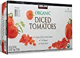 Organic Diced Tomatoes ideal for pasta, soup and sauces. 8 cans 14.5 ounce each. Organic California roma tomatoes.