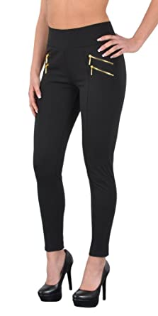 eaa48aaba48b43 by-tex Womens Treggings Plus Size Pants Ladies Big Size Jeggings Womens up  To Oversize