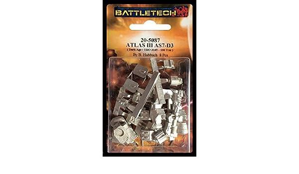 BATTLETECH 20-5087  Atlas III AS7-D3