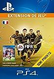 500 Points FIFA 16 [Extension De Jeu] [Code Jeu PSN PS4 - Compte français]