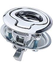 DEDC Pull Lock meubelslot, meubelgreep, slot voor camping, boot, caravan, flush hatch, locker, cabinet, pull lift hatch, valslot, S 38 mm