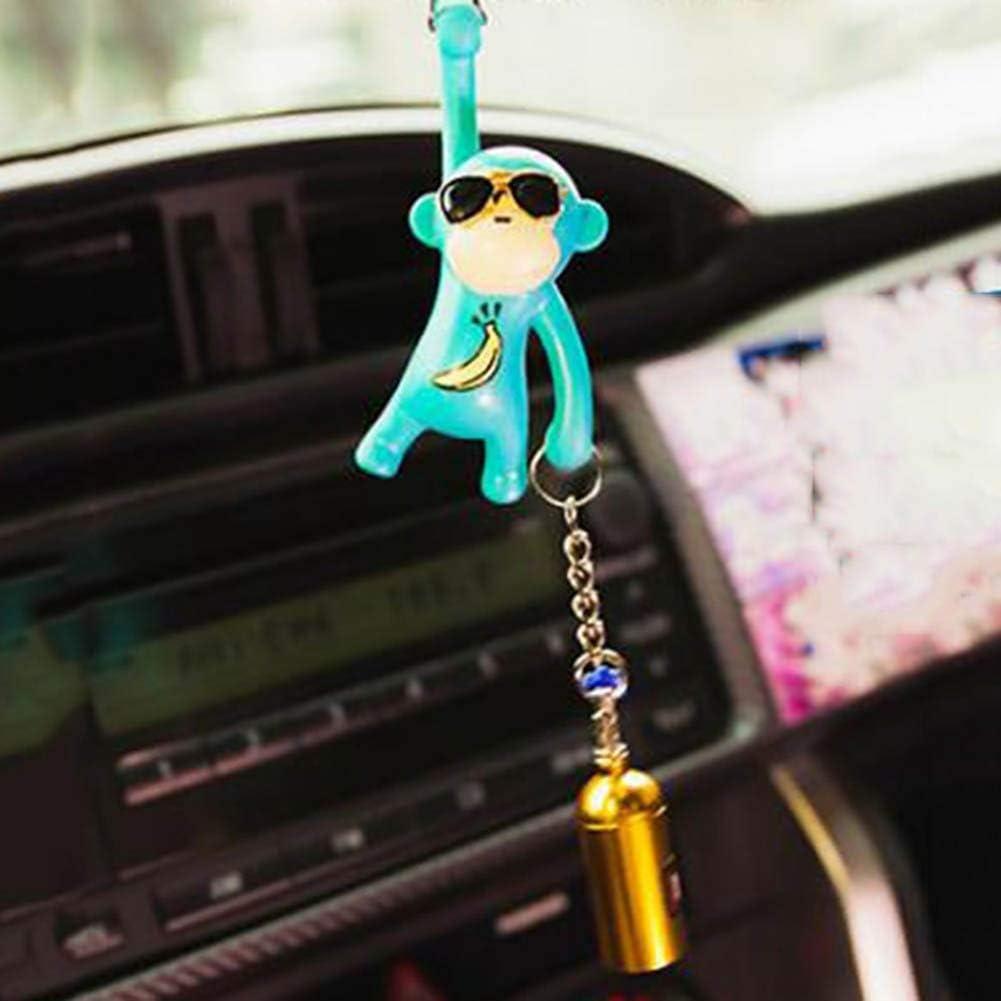 Alger Colgante del coche Colgando Mono Adornos interiores del coche Decoraci/ón Espejo retrovisor Accesorios para el ornamento del coche black