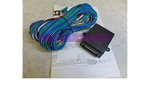 Amazon.com: Central Door Lock Kit Pre Wired Relay Module w ... on