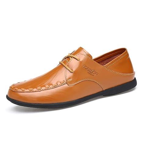 XW_H Zapatos Oxford Casuales para Hombres,Mocasines Formales ...