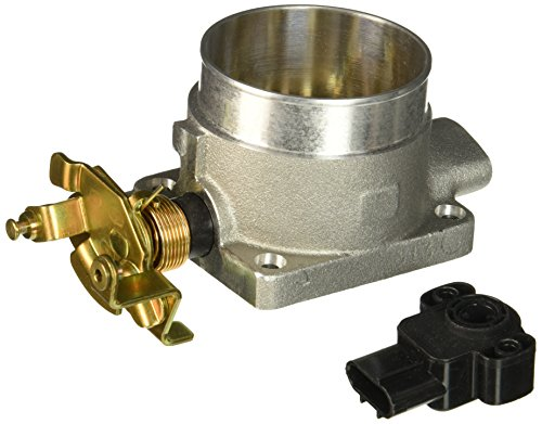 75 Mm Throttle Body (BBK 1703 75mm Throttle Body - High Flow Power Plus Series for Ford 4.6L-2V/4.6/5.4L F150/Expedition)