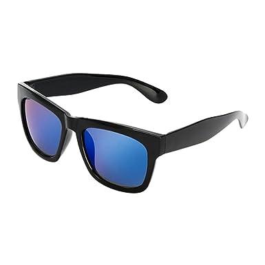 Deylaying Gros Black Cadre Bleu Lentilles Anti-UV Myopie Lunettes de soleil  Goggles Nearsighted Conduite d43ef4ce7e6