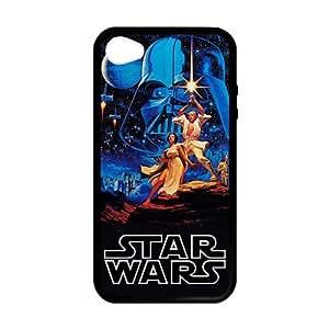 Persoanlized diseño Star Wars iPhone 4,4S caso personalizado Carcasa para iPhone 4y 4S