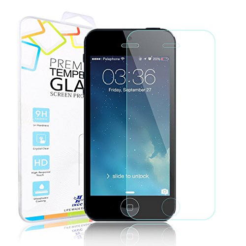 iPhone 5 Screen Protector, iXCC iPhone 5 / - Iphone 5s Screen Protector Glass