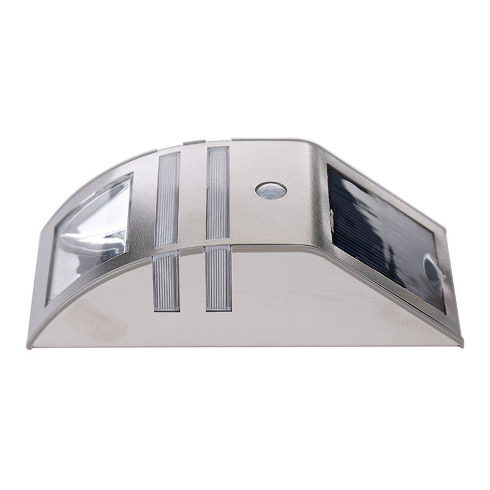 Sammid Auto On/Off Solar Landscape Light,Outdoor Light for Patio, Deck, Yard, Garden - White Light