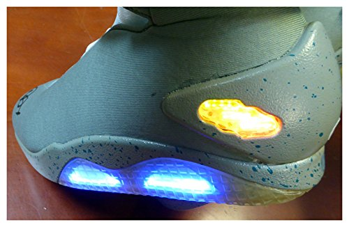 Michael J Fox Signed Autograph Back To The Future Air Mag Shoes - Beckett (Back To The Future Mag Shoes)