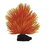 Penn-Plax Betta Plant-Fan Bush and Orange