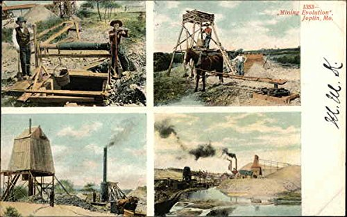 - Mining Evolution Joplin, Missouri Original Vintage Postcard