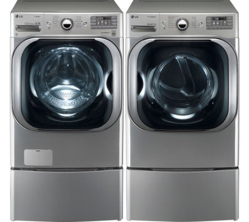 stainless steel lg today the black pedestal on up usa save us to washers laundry