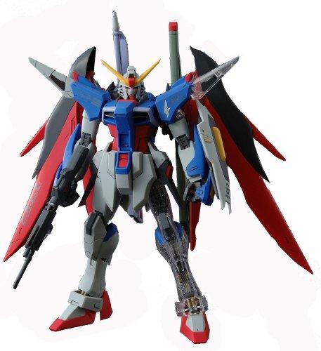 Grade Gundam Master Destiny (Gundam ZGMF-X42S Gundam Destiny with Extra Clear Body parts MG 1/100 Scale)