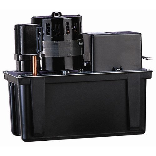 Little Giant VCL-45ULS (553240) Condensate Removal Pump w/ Safety Switch, 115V, 1 gal. Tank, 1/5HP