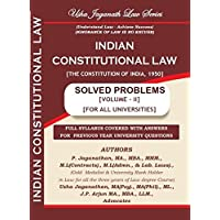 Indian Constitutional Law Solved Problems Volume - II(English)