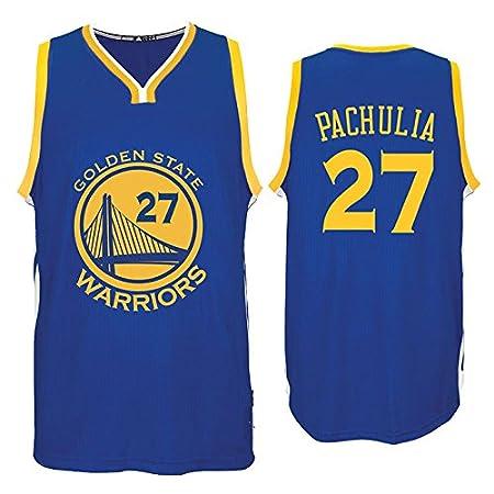 e8c3d5693 ... Zaza Pachulia Jersey Basketball Jersey Royal Blue 27 Road Jersey