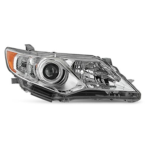 ACANII - For 2012-2014 Toyota Camry L/LE/XLE Projector Replacement Headlight Headlamp - Passenger Side Only ()