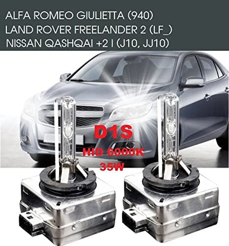 2x Stück D1s Xenon Brenner 6000k 35 Watt Pk32d 2 85v Xenonbrenner Autolampe Birne Hid Entladungslampe Ersatzlampe Scheinwerfer Scheinwerferlampe Für Abblendlicht Fernlicht Inion Auto