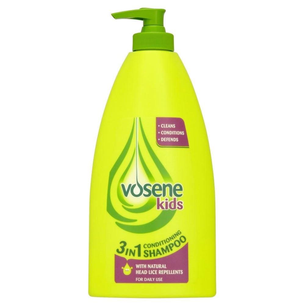 Vosene Kids 3in1 Conditioning Shampoo with Head Lice Repellent (400ml) - Pack of 2 Grocery
