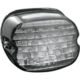 Kuryakyn 5438 Low Profile LED Taillight with Smoke Lens and License Plate Light