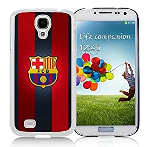 Fashionable Samsung Galaxy S4 Case Design with fc barcelona in White