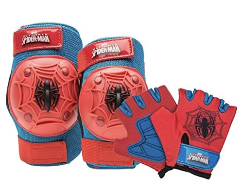 Marvel Spiderman Kids Skate / Bike Helmet Pads & Gloves - 7 Piece Set by Marvel (Image #4)