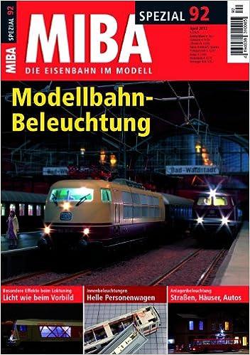 Modellbahn Beleuchtung   Miba Spezial 92 Modellbahn Beleuchtung Amazon De Miba Bucher