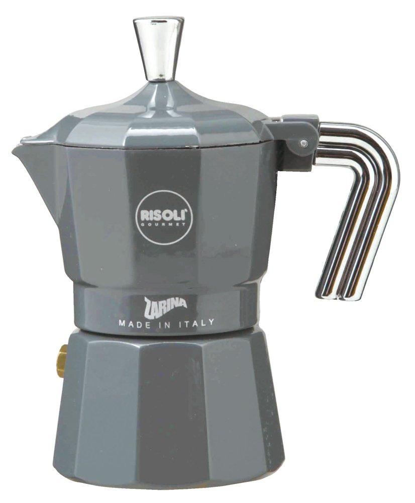 ZARINA (Zarina) espresso maker 1cup for gray RZ-1GL (japan import)