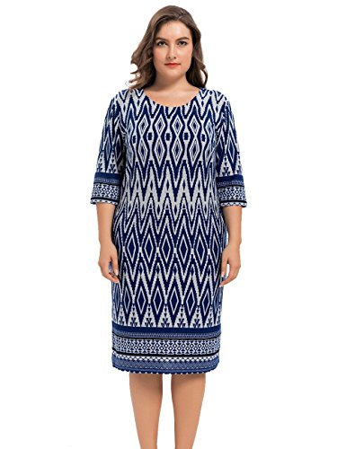 Zig Zag Tunic Dress - 8