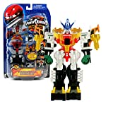 Bandai Year 2007 Power Rangers Operation Overdrive Series 6 Inch Tall Action Figure Robot Set - TRANSMAX VEHICLES Set H with 5 Vehicles that Combine into Megazord Figure