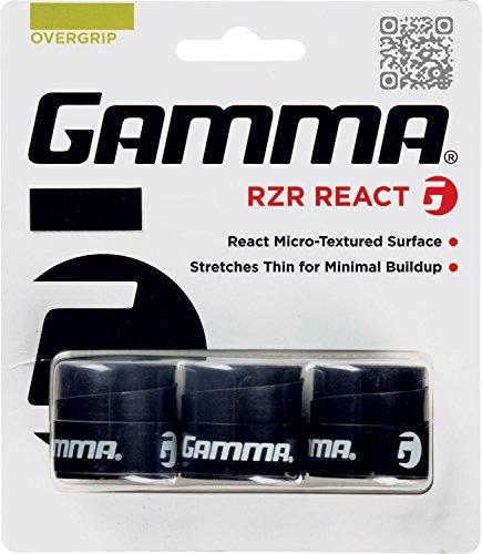 Gamma Sports RZR React Overgrip - Black